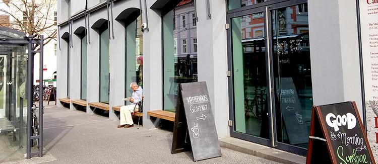Das Restaurant im Grazer Kunsthaus