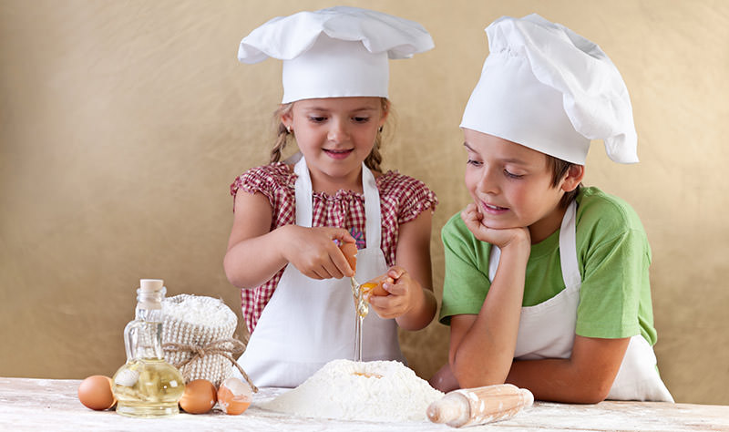 Auch Kochen und Backen wird angeboten - siehe Erlebnisküche und Kochstudio PUR