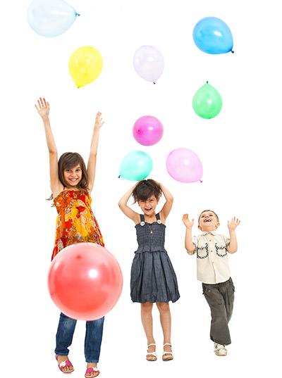 luftballonspiele kinder party
