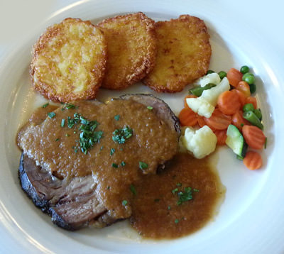 Mittagsmenü im bruno