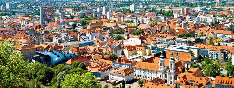 Die Grazer Innenstadt