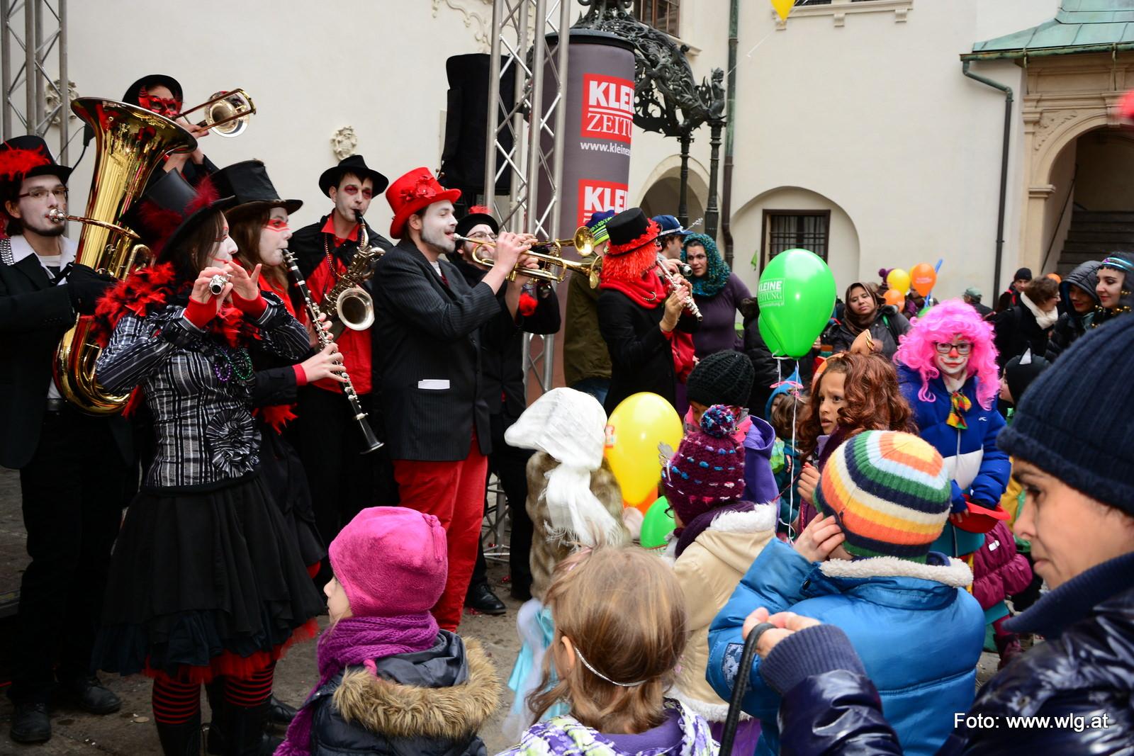 Masala Brass Kollektiv @ Kinderfasching in Graz