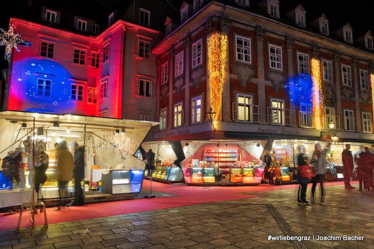 Christkindlmarkt am Grazer Mehlplatz