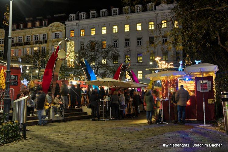 Christkindlmarkt am Eiseren Tor Graz